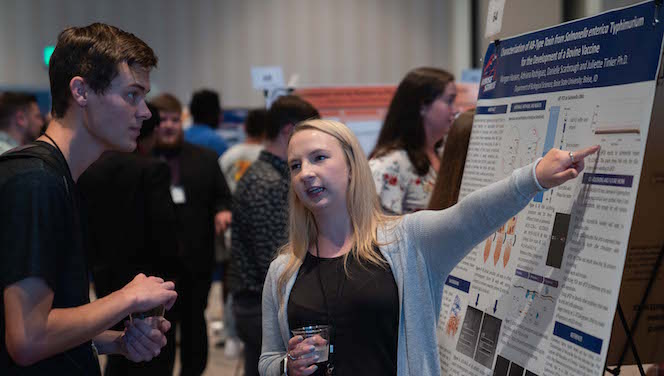 poster presentation during the 2019 conference