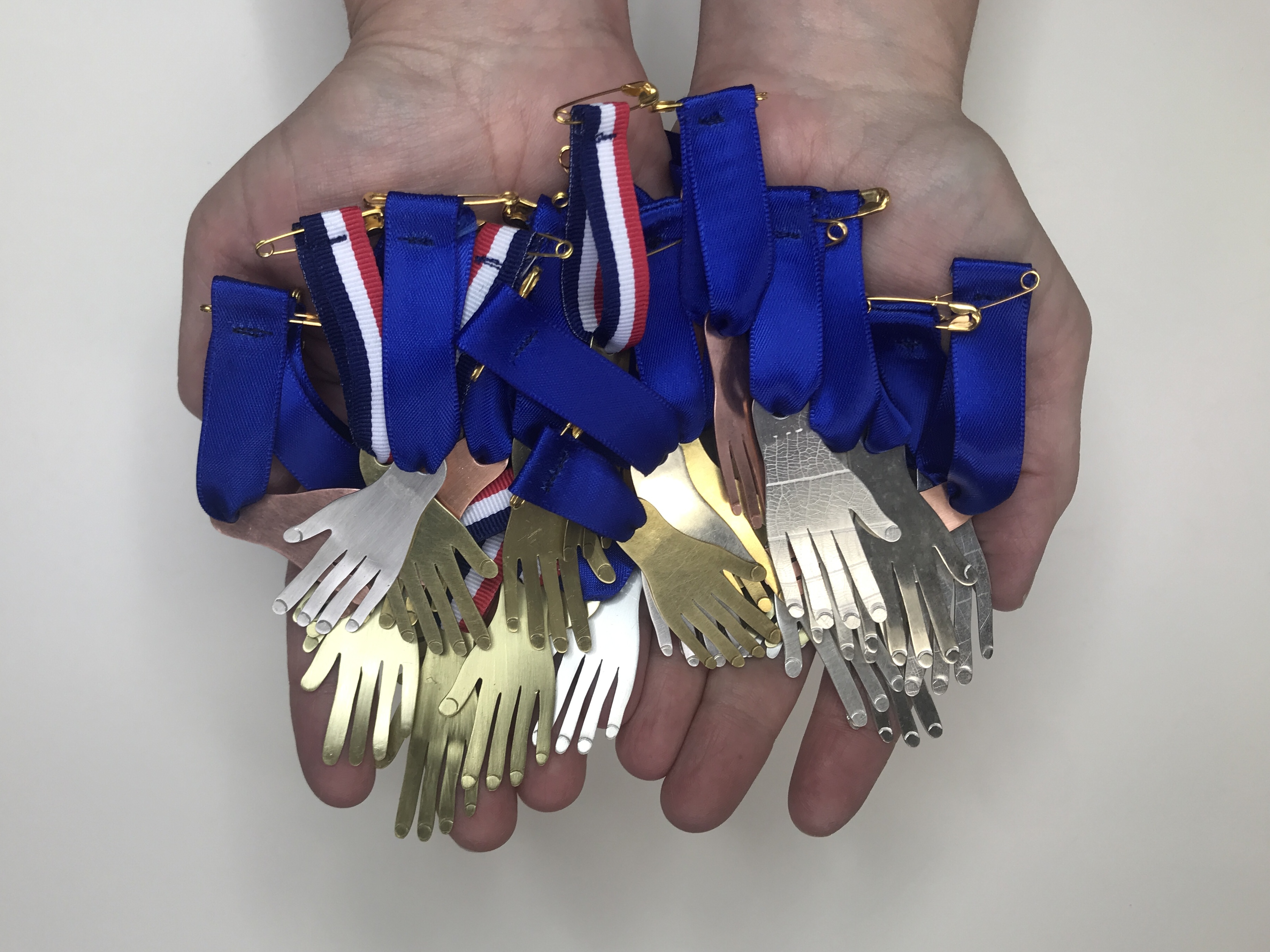 hand-made medals