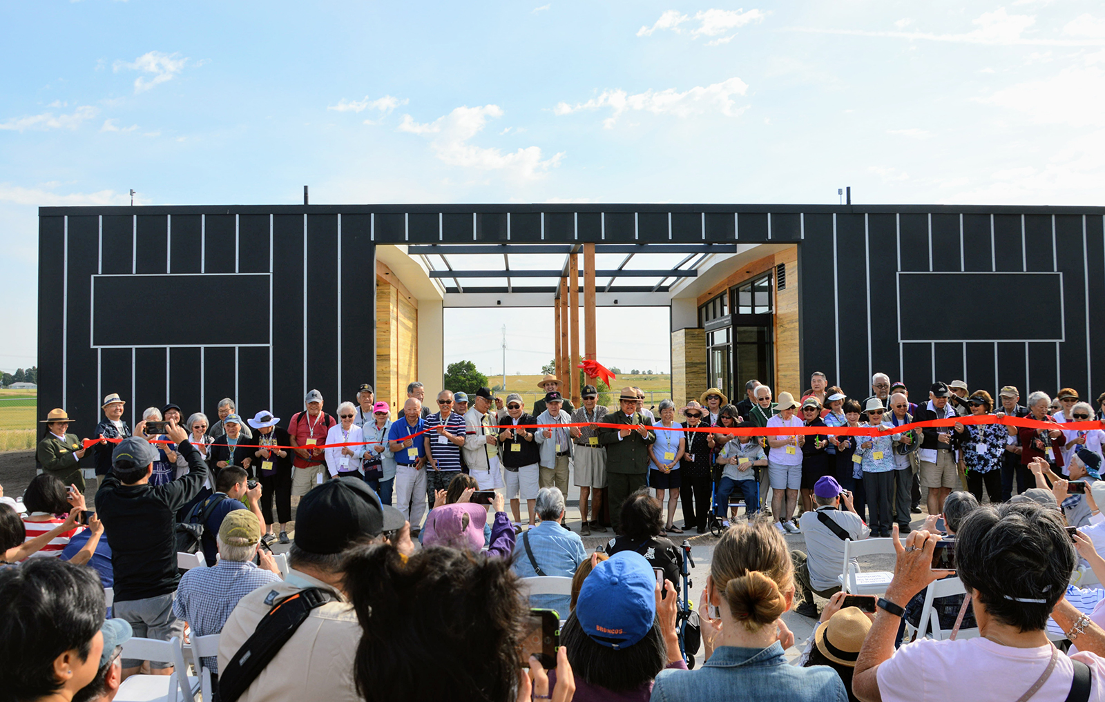 Opening of building