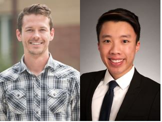 Headshot of Scott Birks (left) and Tim Phero (right).