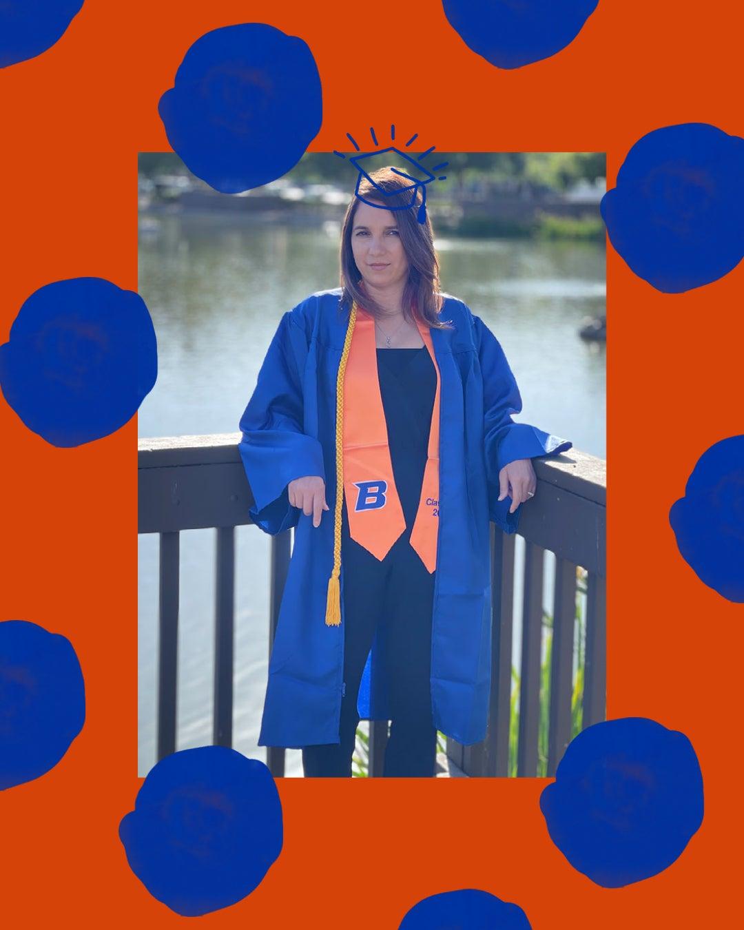 Araceli Gutierrez Bachelor of Arts, Public Health graduate.