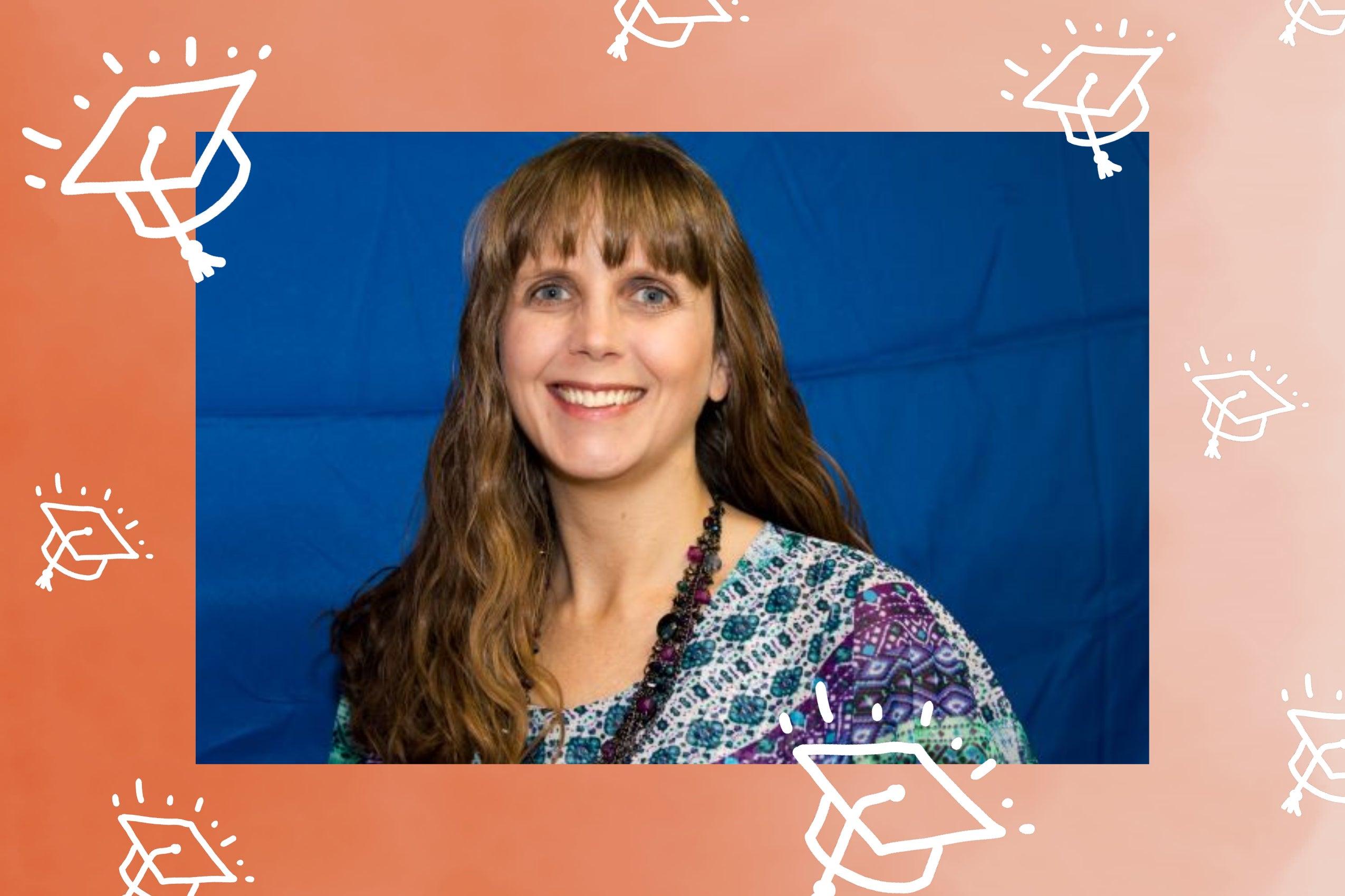 Beth Schumacher Master of Science in Accountancy graduate.