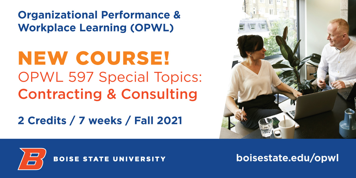 OPWL's new course 597