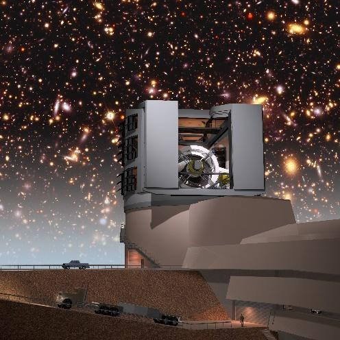 illustration of Vera Rubin Observatory