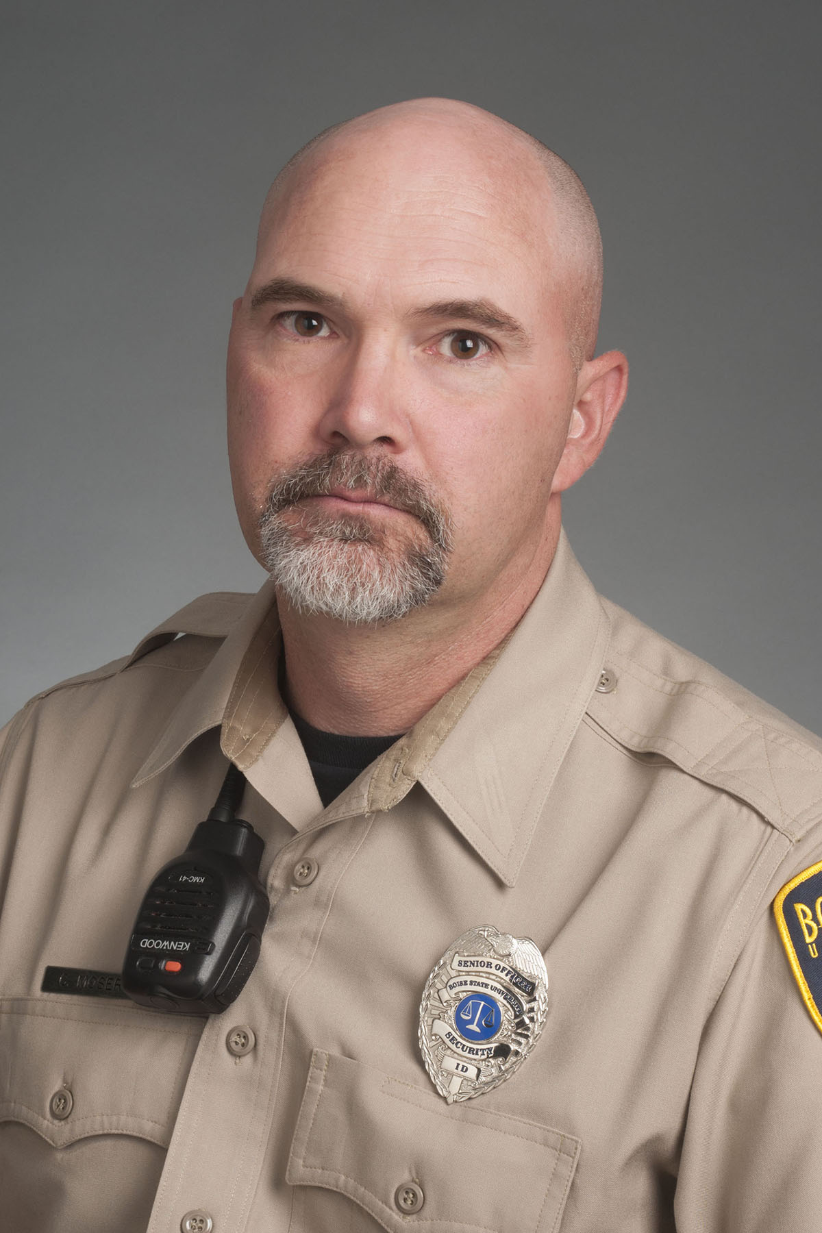 Chris Moser, Security, studio portrait