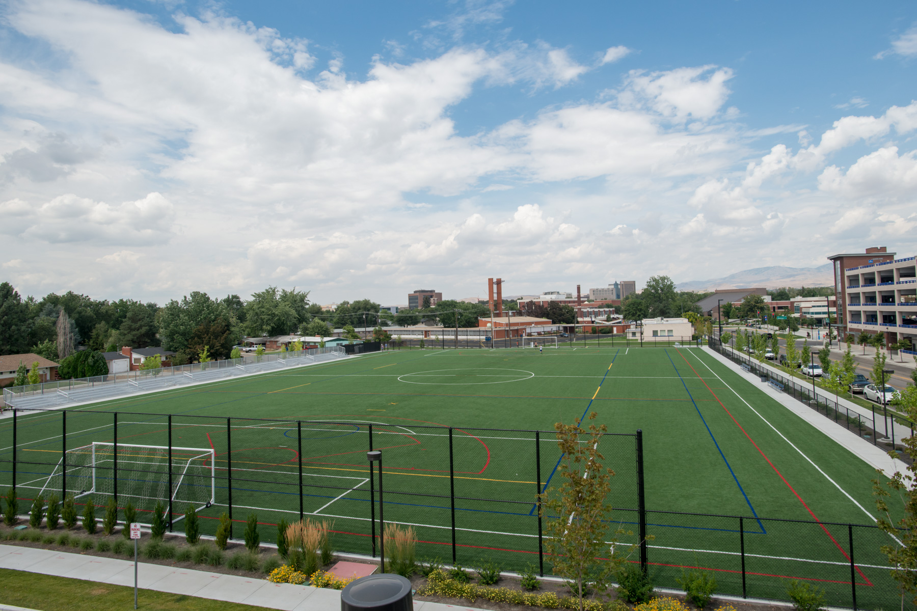 Intramural Field Complex, recreation, student life, Carrie Quinney photo