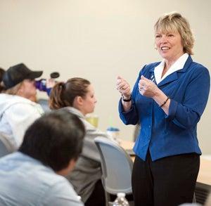 Cindy teaching