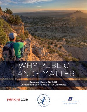 Photo of why Public Lands Matter book cover