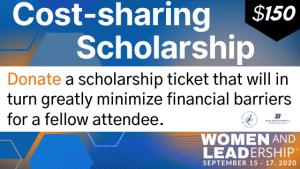 Cost sharing scholarship