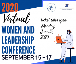 2020 Virtual Women and Leadership Conference September 15-17