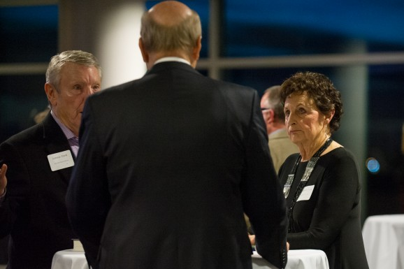 photo of unidentified reception attendees 2