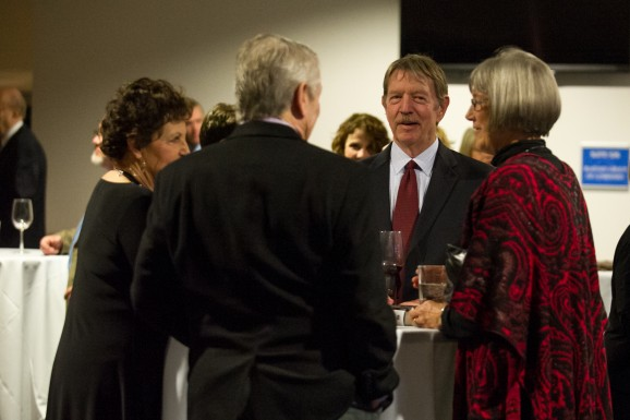 photo of unidentified reception attendees 4