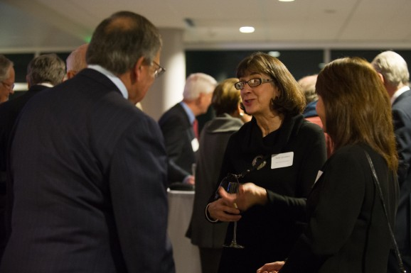 photo of unidentified reception attendees 8