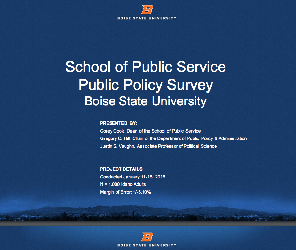 Open Public Policy Survey