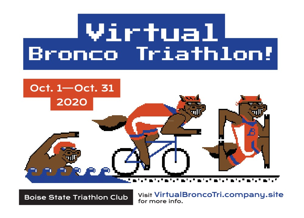 Virtual Bronco Triathlon