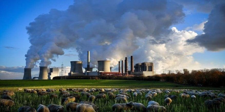 Power plant, photo