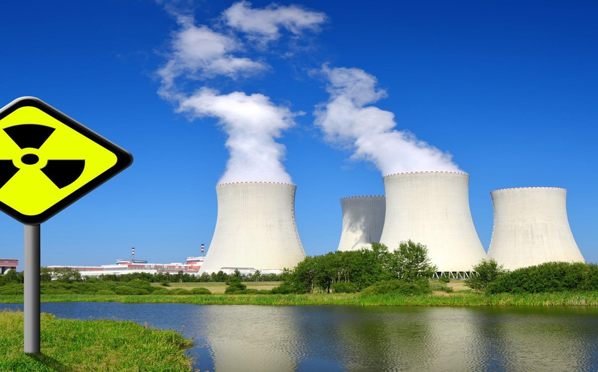 Nuclear power plant, photo