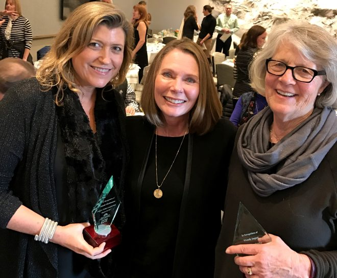 photo of aimee christensen, tracy andrus and wendy jaquet