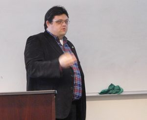 Photo of Dr. Matthew May of the Idaho Policy Institute