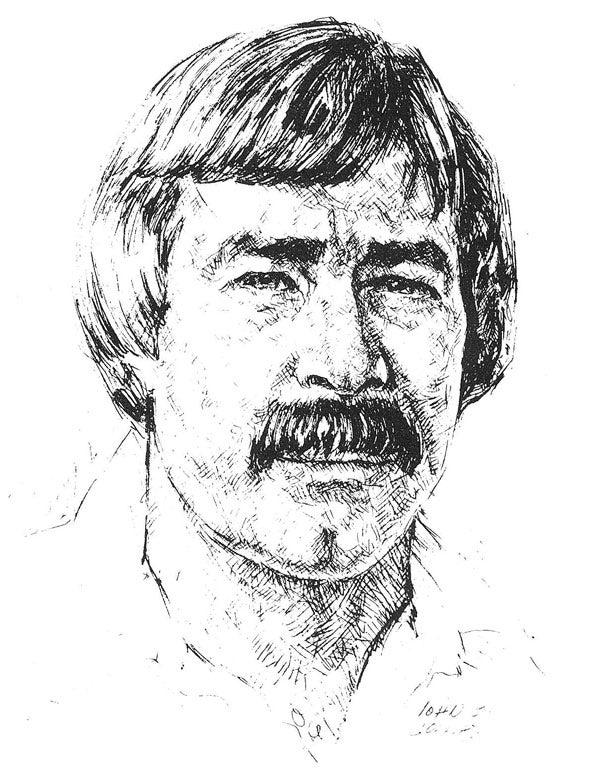 Bud Johnson sketch