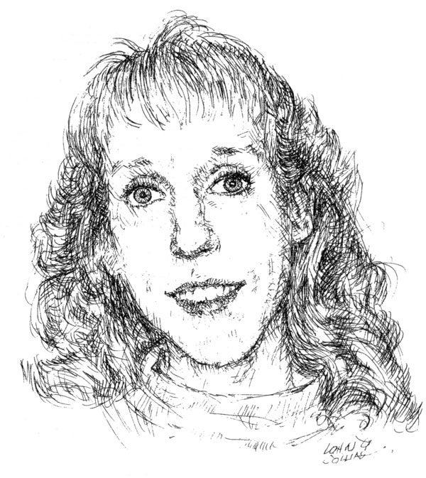 Kathy Karpel, sketch