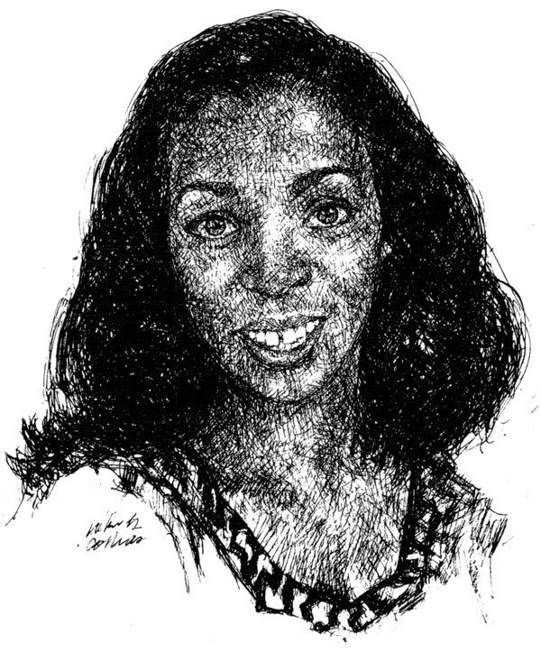 Crystal Young, sketch