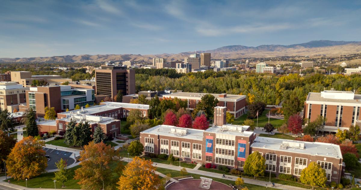 Boise State University - Idaho's Metropolitan Research University