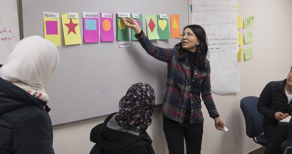 Intensive English Program Community Friday Event, Photo by Emma Thompson